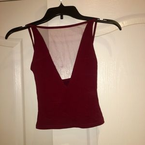 Size XS urban outfitters mesh tank top